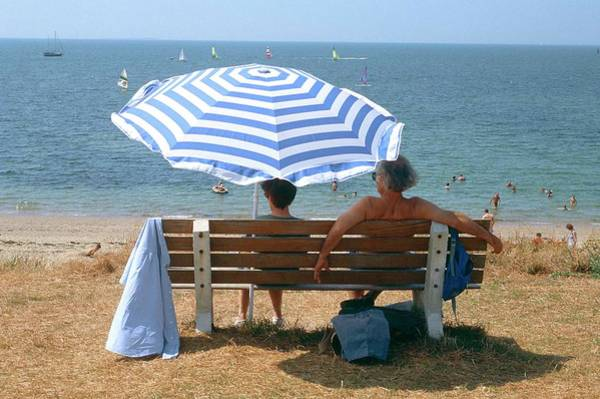 Photograph - The Holidays In Loire Atlantique In by Michel Baret