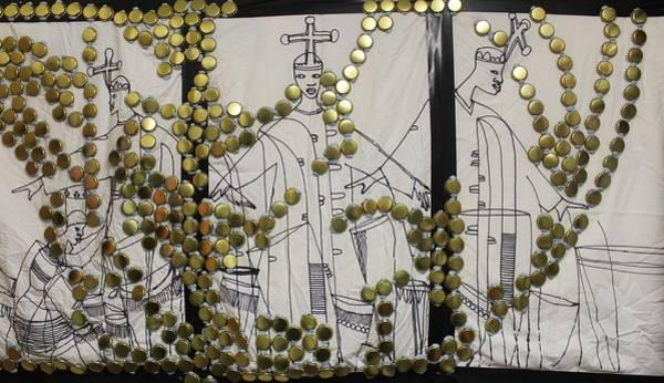Painting - The Holy Trinity And Bikira Maria Nigeria by Gloria Ssali
