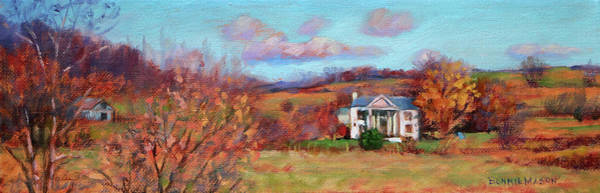 Wall Art - Painting - The Homeplace- A Perfect Day... by Bonnie Mason