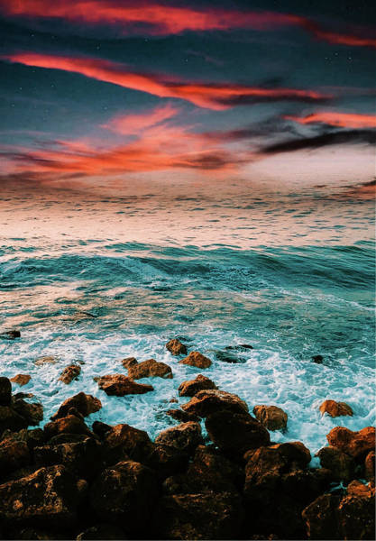 Photograph - The Horizon by AE collections