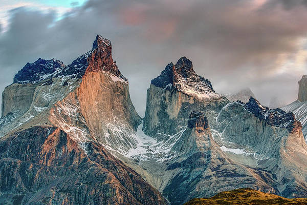 Inspirational Photograph - The Horns Of Paine by Inspirational Images By Ken Hornbrook