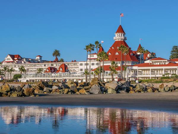 Photograph - The Hotel Del Coronado San Diego by Robert Bellomy