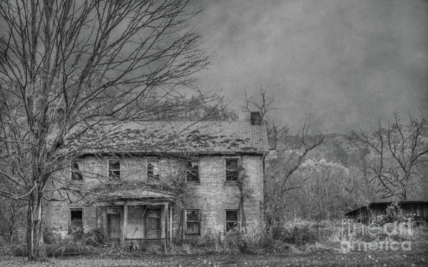 Wall Art - Digital Art - The House At The End Of The Lane by Randy Steele