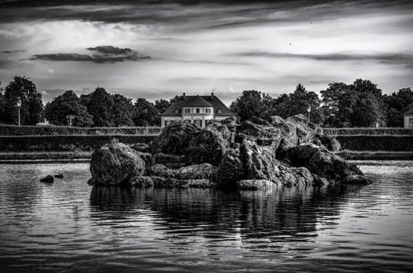 Photograph - The House Behind The Rocks by Borja Robles