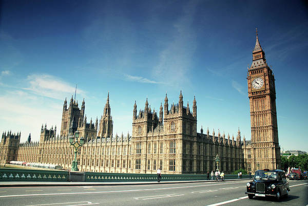 The Clock Tower Photograph - The Houses Of Parliament & Big Ben by Cezary Zarebski Photogrpahy