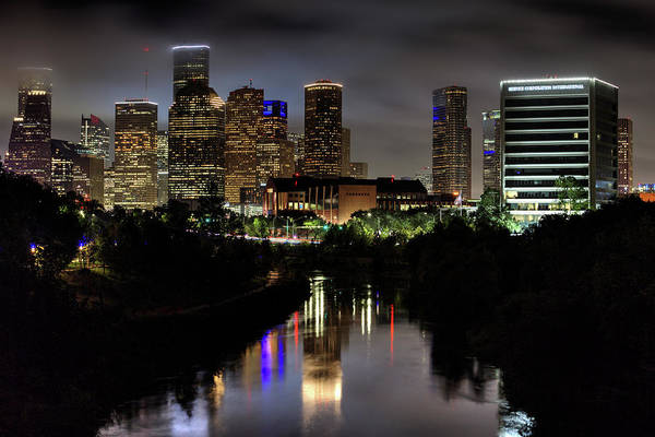Wall Art - Photograph - The Houston Skyline by JC Findley