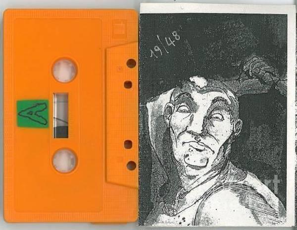 Mixed Media - The Howling Cassette/orange by Kasey Jones