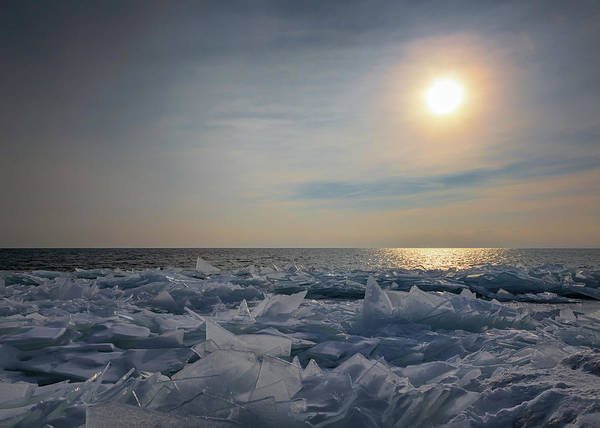 Photograph - The Ice Fields Of Lake Superior by Susan Rissi Tregoning