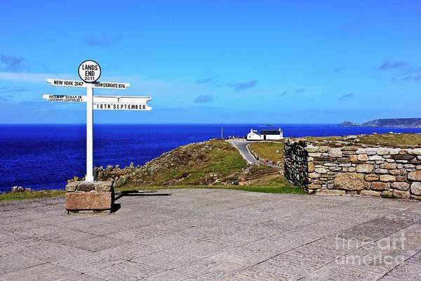 Penwith Photograph - The Iconic Land's End by Terri Waters