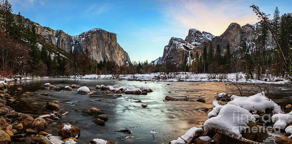 Wall Art - Photograph - The Iconic Valley View In Yosemite National Park. by Jamie Pham