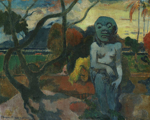 Wall Art - Painting - The Idol, 1898 by Paul Gauguin