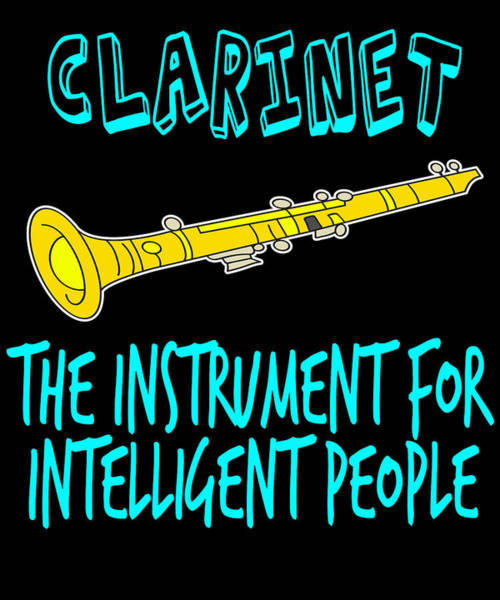 Harp Mixed Media - The Instrument For Intelligent People Tee Design Perfect For Wise And Gifted Like You  by Roland Andres
