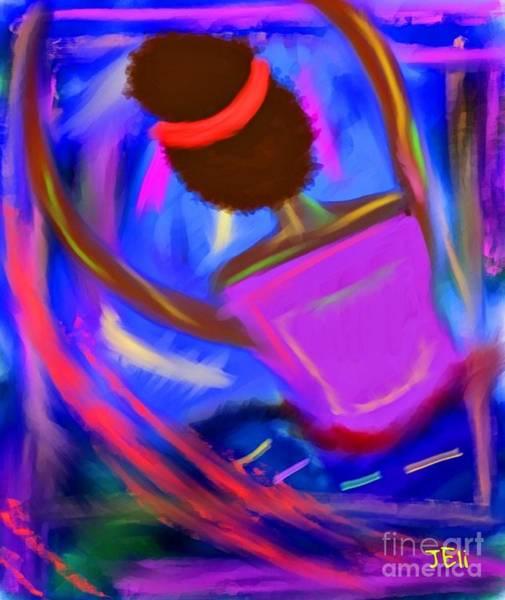 Digital Art - The Intercessor by Jessica Eli