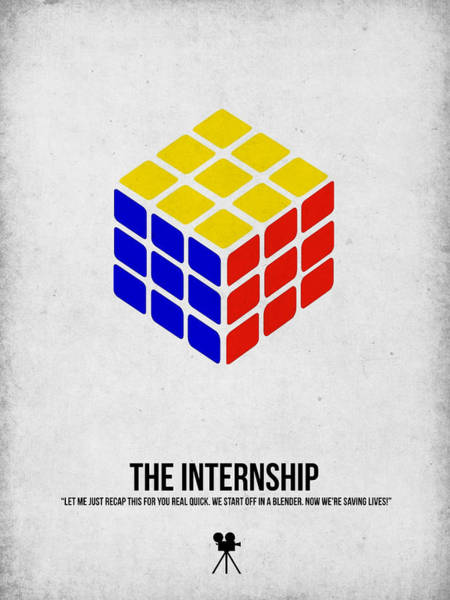 Wall Art - Digital Art - The Internship by Naxart Studio