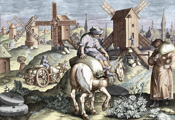 Wall Art - Photograph - The Invention Of The Windmill, Nova by Science Source