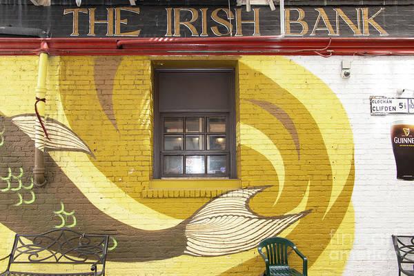 Photograph - The Irish Bank Bar And Restaurant 10 Mark Lane San Francisco R393 by Wingsdomain Art and Photography