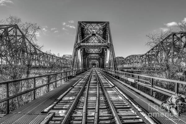 Photograph - The Iron Age Memphis Tennessee Snow Covered Bridges Mississippi River Art by Reid Callaway
