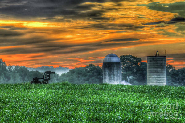 Wall Art - Photograph - The Iron Horse Old Friends Sunrise Georgia Farming Landscape Art by Reid Callaway