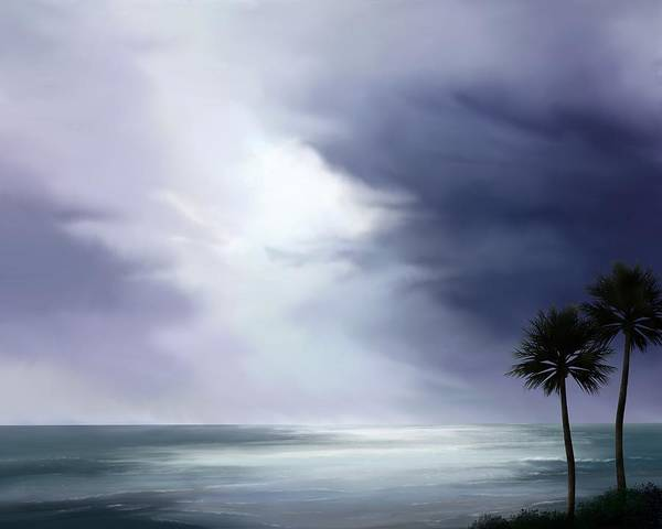 Painting - The Island by Mark Taylor