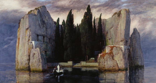 Wall Art - Painting - The Isle Of The Dead, 1883 by Arnold Bocklin