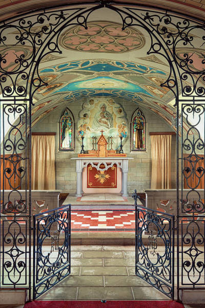 Photograph - The Italian Chapel II by Dave Bowman