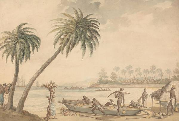 Drawing - The Ivory Coast, West Africa by Thomas Rowlandson