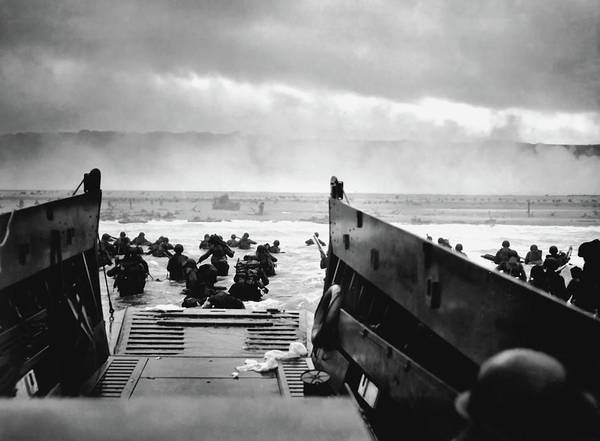 Wall Art - Photograph - The Jaws Of Death - 6 June 1944, Omaha Beach by Robert F Sargent