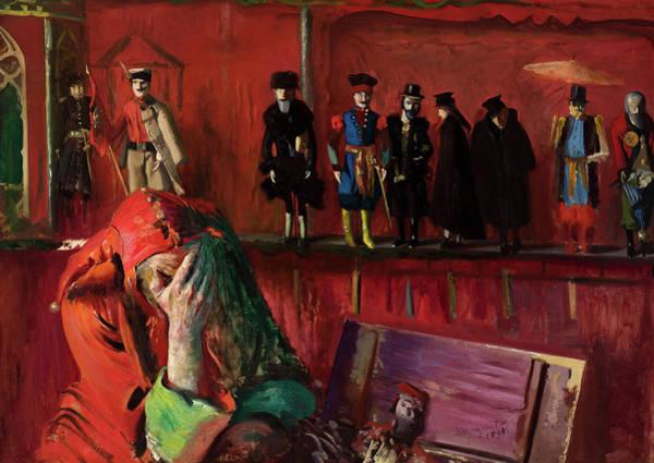 Wall Art - Painting - The Jester, 1898 by Leon Wyczolkowski