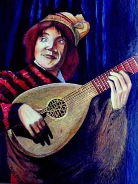 Baroque Mixed Media - The Jester by John Baroque