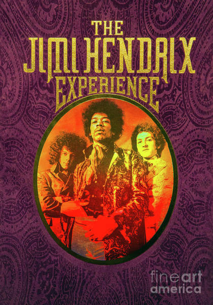 Photograph - The Jimi Hendrix Experience by Kevin McCarthy