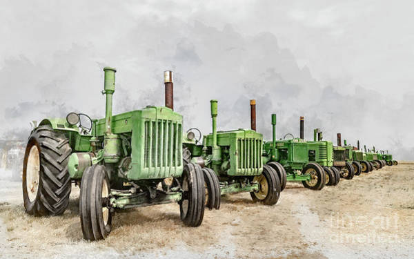 Photograph - The John Deere Collection by Brad Allen Fine Art