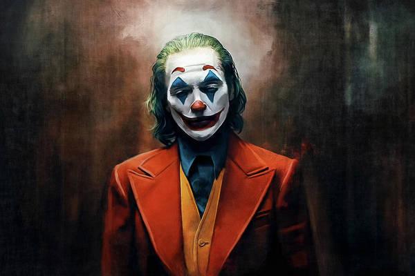 Super Hero Mixed Media - The Joker by Joseph Oland