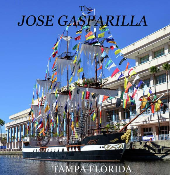 Wall Art - Photograph - The Jose Gasparilla Pirate Ship by David Lee Thompson