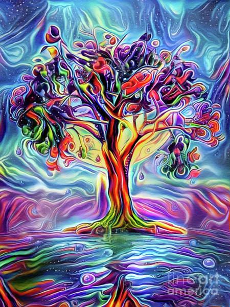 Wall Art - Digital Art - The Joseph Tree by John Edwards