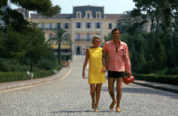 Wall Art - Photograph - The Jourdans by Slim Aarons