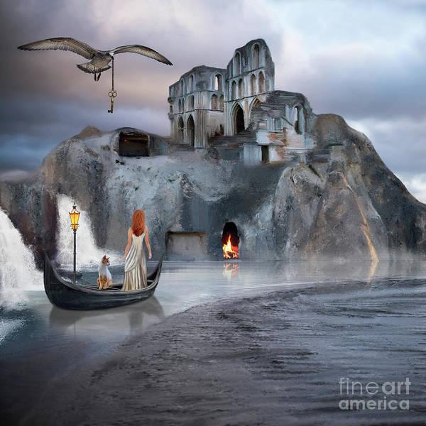 Digital Art - The Journey To Atlantis by Anne Vis
