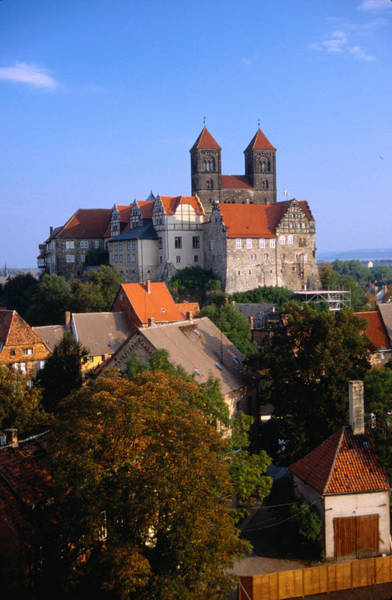 Wall Art - Photograph - The Kaiserpfalz And St Servatius Church by David Peevers