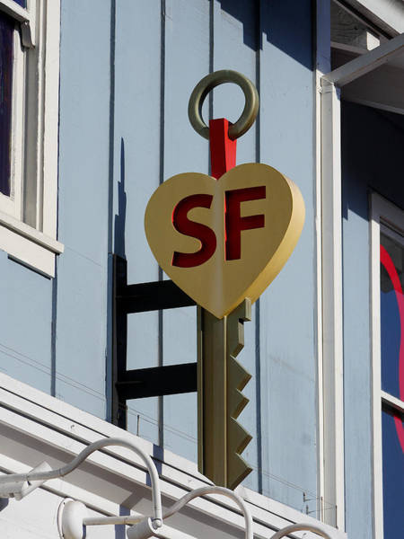 Photograph - The Key To San Francisco by Richard Reeve