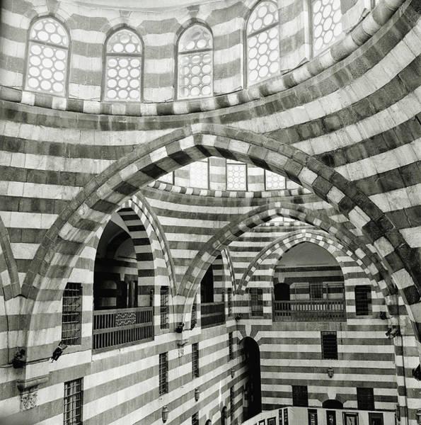 Damascus Photograph - The Khan Asad Pasha, An Ancient by Cultura Rm Exclusive/philip Lee Harvey