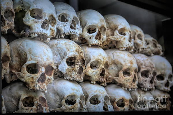 Wall Art - Photograph - The Killing Fields  Choeung Ek Cambodia  by Chuck Kuhn
