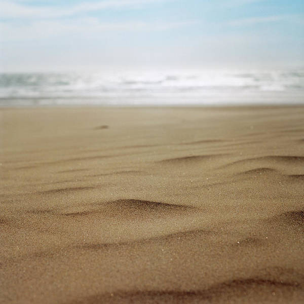 Oregon Dunes Photograph - The Kind Ways Of Surf And Sand by Zeb Andrews