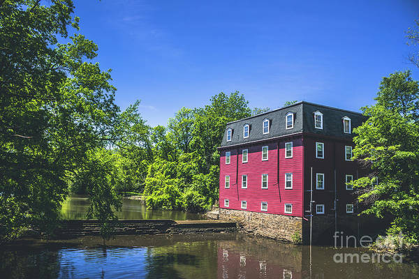Wall Art - Photograph - The Kingston Mill House by Colleen Kammerer