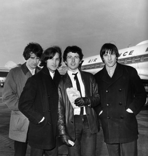 Wall Art - Photograph - The Kinks by Evening Standard