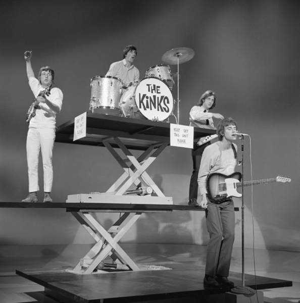 Wall Art - Photograph - The Kinks On Shindig by Michael Ochs Archives