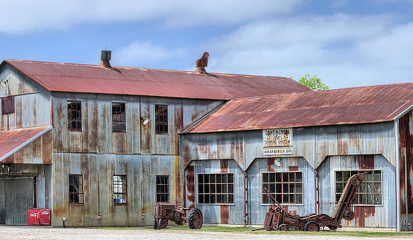 Wall Art - Photograph - The Kirkpatrick Cotton Gin by JC Findley