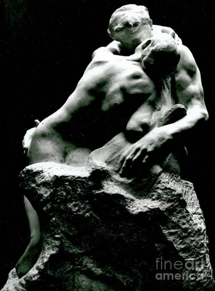 Wall Art - Sculpture - The Kiss, 1886 by Rodin