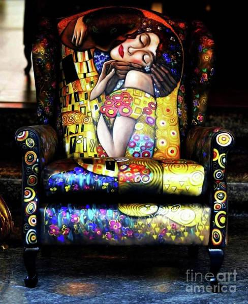 Painting - The Kiss by Qasir Z Khan