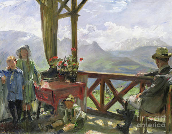 Brothers Painting - The Klobenstein, 1910  by Lovis Corinth