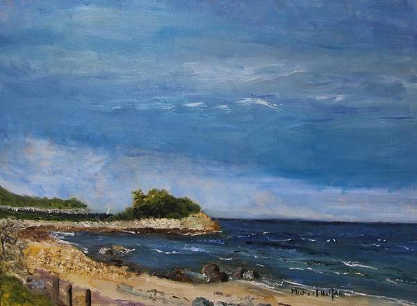 Painting - The Knob, Falmouth by Michael Helfen