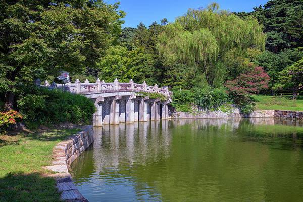 Photograph - The Koi Pond At Hyeonchungsa Shrine by Rick Berk